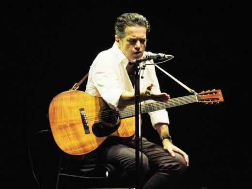 (Fotos) Juan Perro, su guitarra y el Teatre Principal