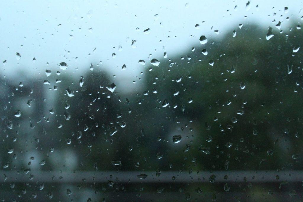 Lluvia en Menorca