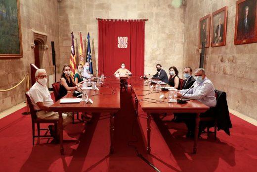 Una imagen de la reunión (Foto: CAIB)