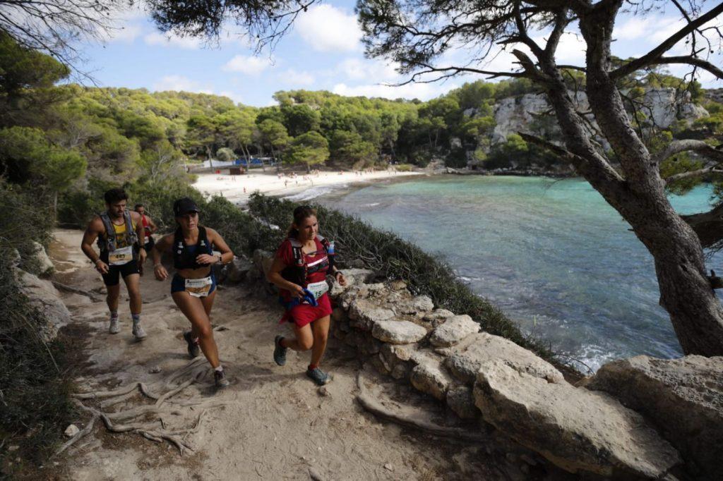 Atletas en una anterior October Trail.