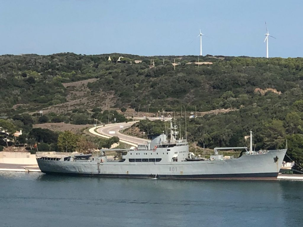 """Buque de la Armada """"Contramaestre Casado"""""""