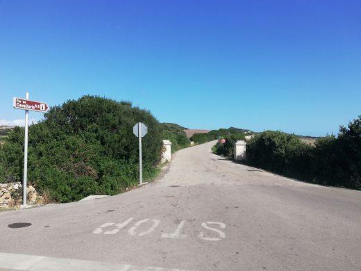 Camí de Sanitja en Es Mercadal