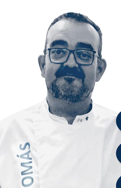 El cocinero Tomás Cano