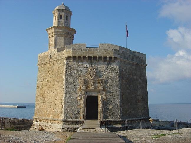 Castillo de Sant Nicolau.