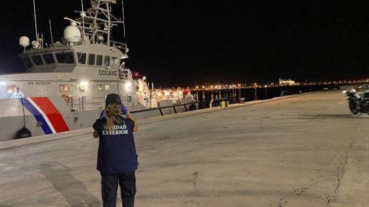 Control en el puerto de Palma (Foto: Mallorcadiario.com)