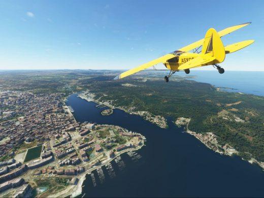 """(Vídeo y fotos) """"Microsoft Flight Simulator"""": así se ve Menorca desde el cielo"""