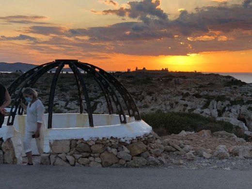 (Fotos) Lleno al atardecer en el Far de Cavalleria