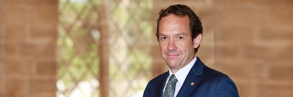 Imagen del conseller menorquín Marc Pons.