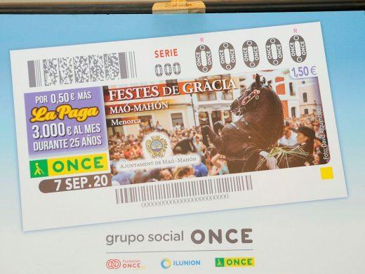 (Fotos) Las fiestas de Gràcia, en el cupón de la ONCE