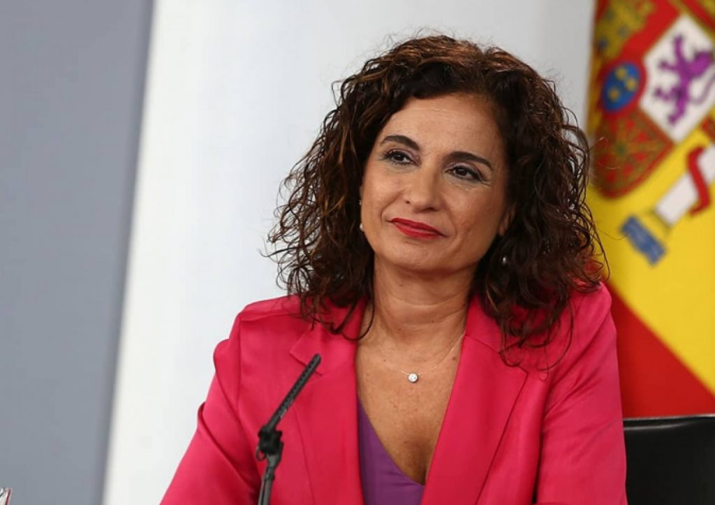 María Jesús Montero es la ministra de Hacienda