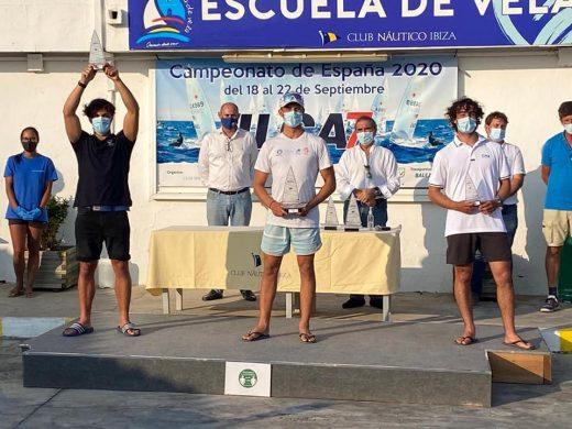 El menorquín Pere Ponsetí en el podio