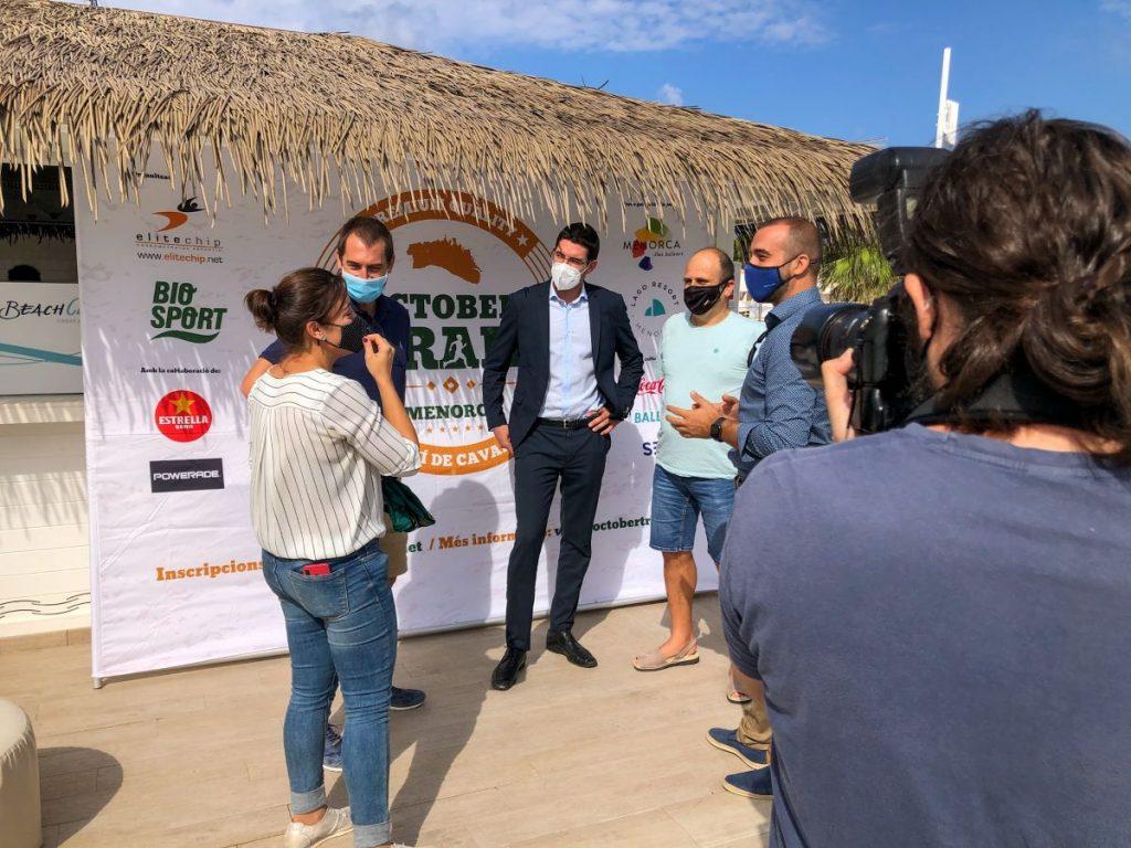 Presentación de la prueba este viernes en Lago Resort Menorca