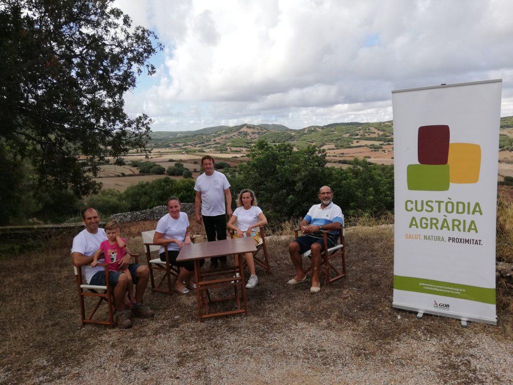 Santa Cecilia entra en el programa de Custodia Agraria