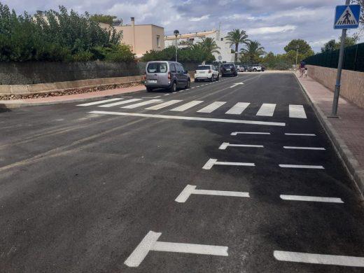 (Fotos) Ciutadella acaba las obras en las calles de Son Carrió