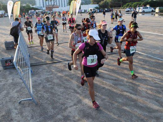 (Galería de fotos) Maria Allès y Joan Florit reinan en la October Trail