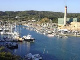 Central del puerto de Maó