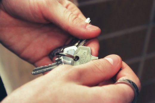 Tener o no tener llaves de una casa