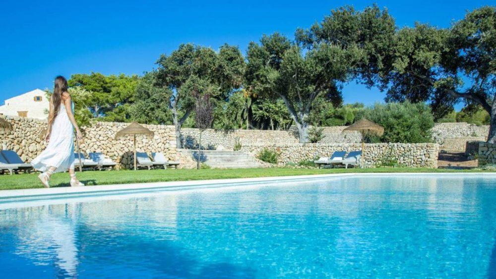 Imagen de la piscina del recinto (Vídeo y fotos: Bonnin Sansó)