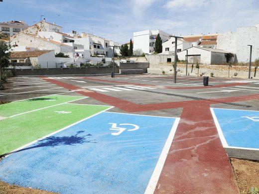 Maó estrena los aparcamientos de la Plaça Eivissa