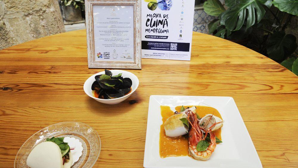 Uno de los platos ofrecidos en la Mostra (Foto: Tolo Mercadal)