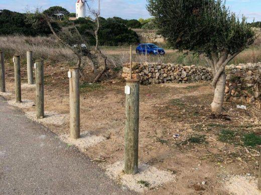 (Fotos) Es Castell mejora el acceso al camí Vell de Maó