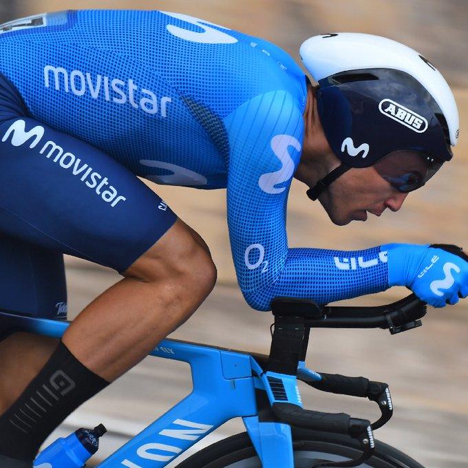 Albert Torres, en acción (Foto: Movistar Team)