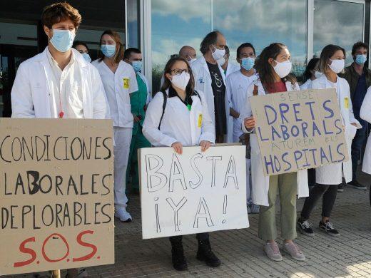 (Fotos) Los médicos inician la huelga