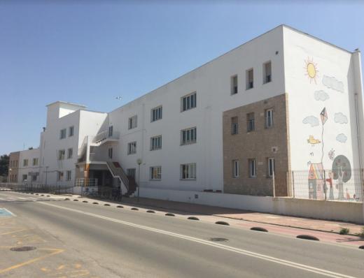 Imagen del centro educativo de Ciutadella.