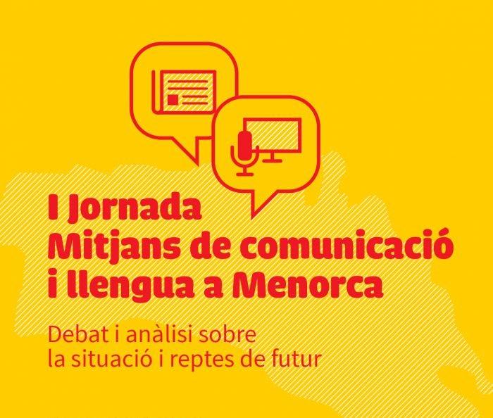 Cartel de la Jornada que se celebrará en Ciutadella