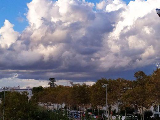 Día nuboso y con probabilidad de chubascos (Foto: EA)