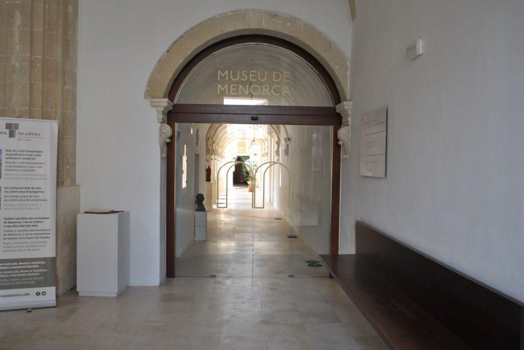 El Museu de Menorca continúa cerrado al público (Foto: EA)