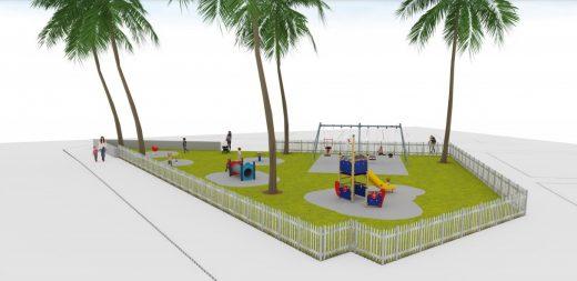 Recreación de la nueva imagen del parque