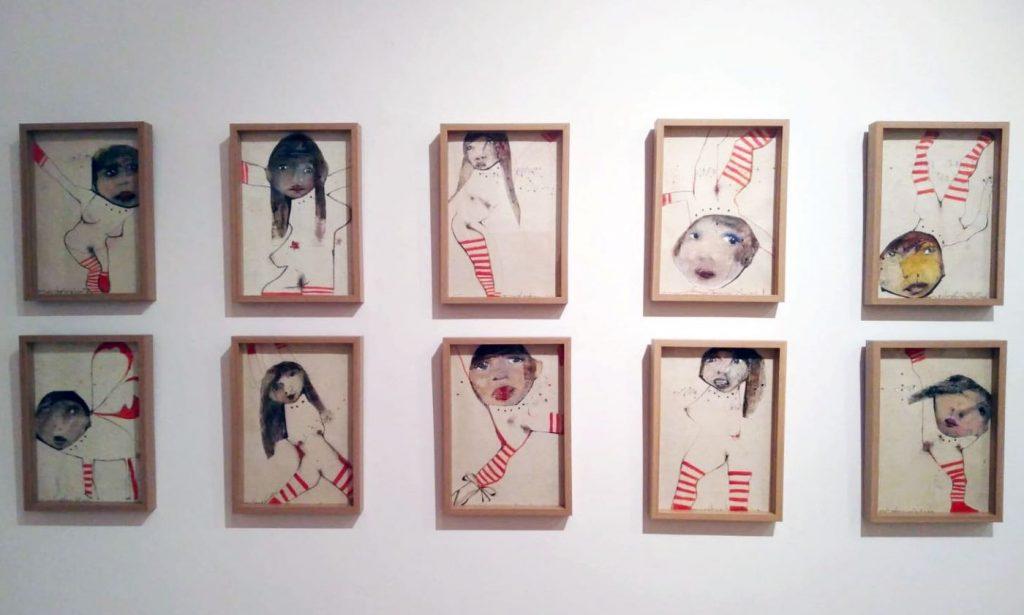 Imagen de la exposición de Empar Boix (Foto: Fundación Baleària)