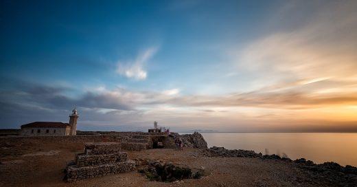 Fotografía captada en Punta Nati (Foto: Turisme de Menorca)