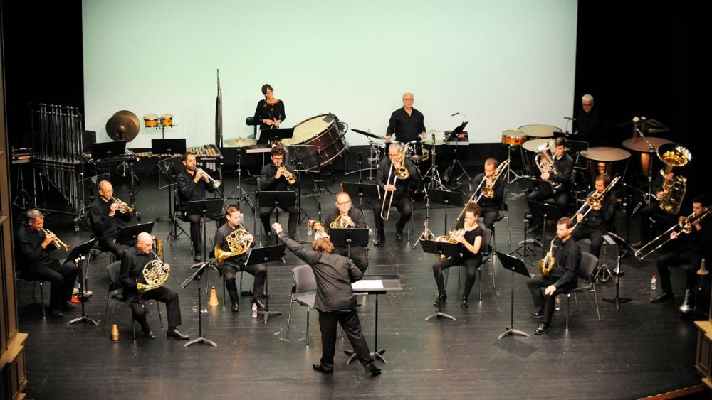 Un momento del concierto en el Teatre Principal (Fotos: Tolo Mercadal)