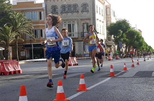 Imagen de archivo de la carrera en Ciutadella.