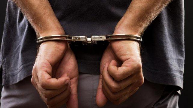 Imagen de un detenido.