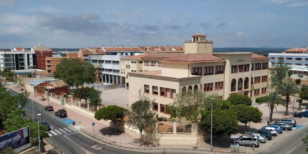 Imagen del instituto Joan Ramis i Ramis de Maó.
