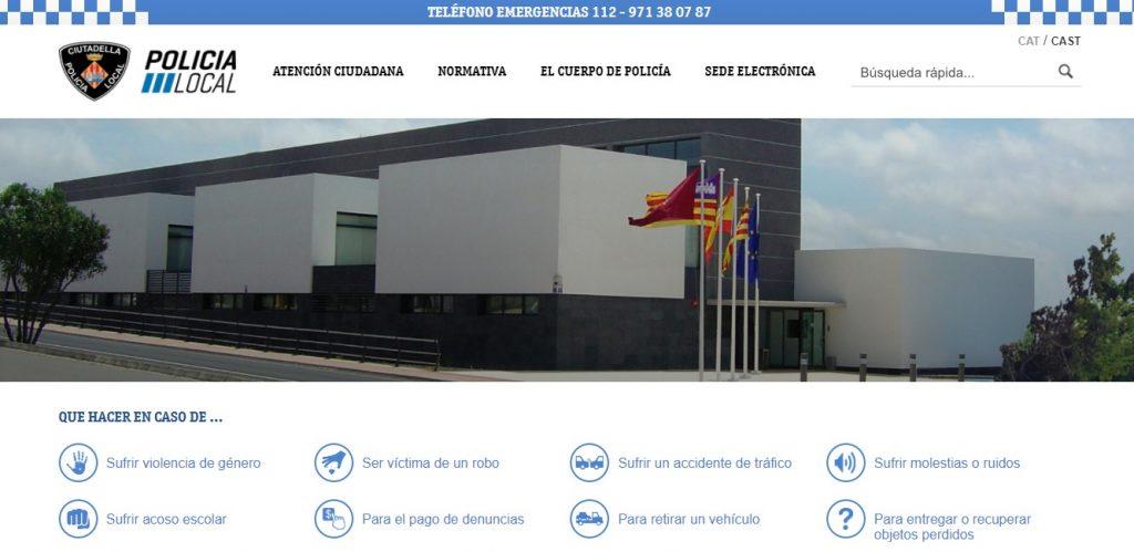 Imagen del nuevo portal de información y servicio