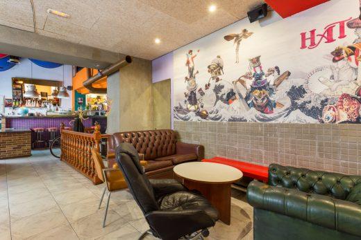 Interior del Hat Bar de Palma.