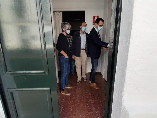 (Fotos) ¿Una rotonda para entrar en Sant Climent?