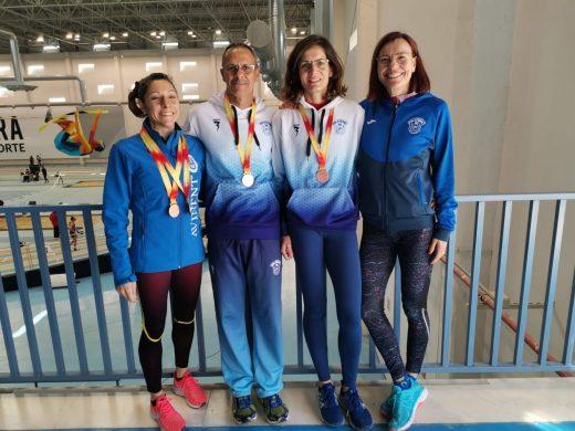 Imagen de archivo de los cuatro atletas (Foto: Andrés Pulido)
