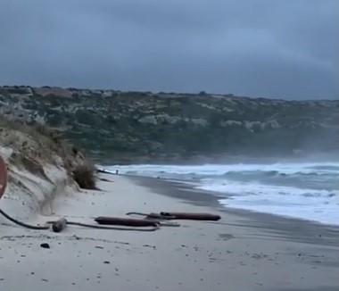 Imagen de ayer de la playa de Son Bou.