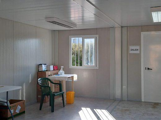 El IB-Salut instala módulos para realizar las PCR en Maó y Ciutadella