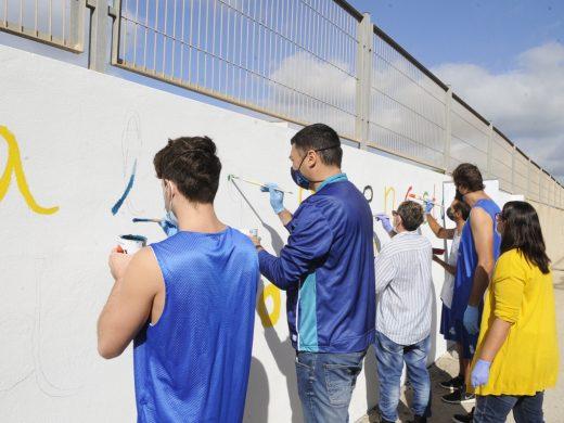 (Fotos) Un muro para el Día de la Salud Mental