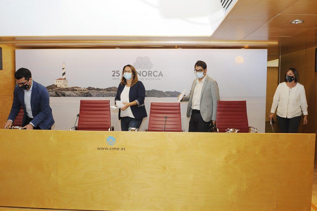 Presentación del proyecto en la sede del Consell de Menorca este viernes