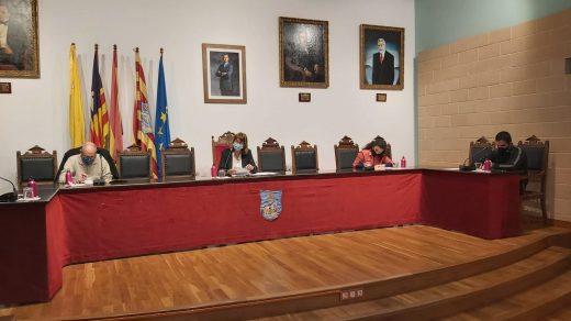 Pleno del Ayuntamiento de Es Castell
