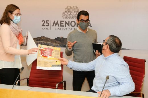 Presentación de la actividad este miércoles en el Consell de Menorca