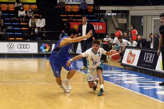 Xavi Hernández, en acción de ataque (Fotos: Jaume Fiol)
