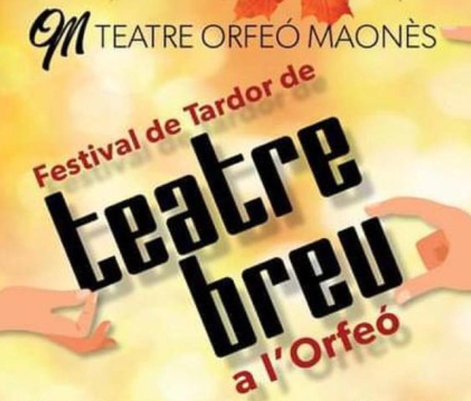 El Festival bebe del certamen de teatro breve